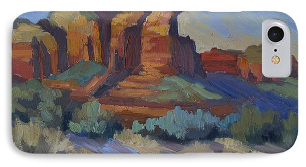Sedona Afternoon Light IPhone Case by Diane McClary