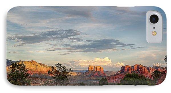 Sedona Arizona Allure Of The Red Rocks - American Desert Southwest IPhone Case by Silvio Ligutti