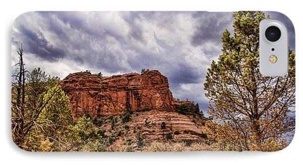 Sedona Arizona Mountain Scenery IPhone Case by Jon Berghoff