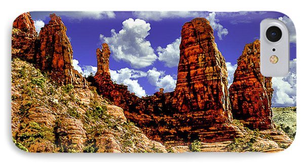Sedona Arizona Red Rock Secret Mountain Wilderness IPhone Case