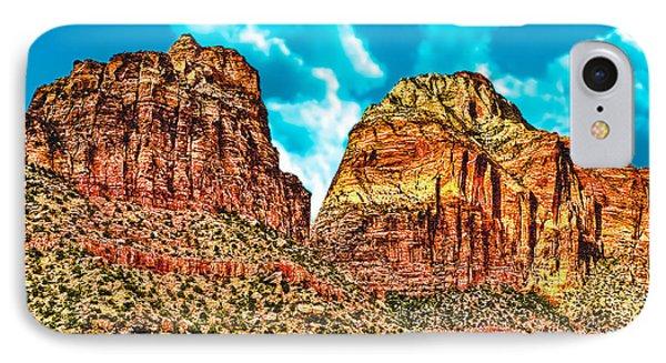 Sedona Arizona Secret Mountain Wilderness IPhone Case