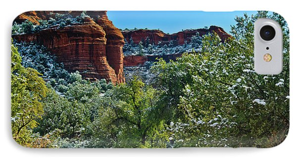 IPhone Case featuring the photograph Sedona Arizona - Wilderness Area by Bob and Nadine Johnston