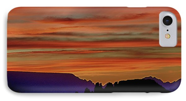Sedona Az Sunset 2 IPhone Case by Ron White