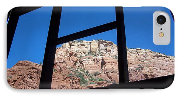IPhone Case featuring the photograph Sedona Chapel 4 by Tom Doud