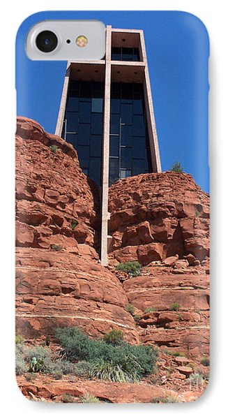 IPhone Case featuring the photograph Sedona Chapel 5 by Tom Doud