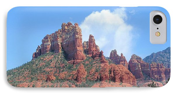 IPhone Case featuring the photograph Sedona by David Rizzo