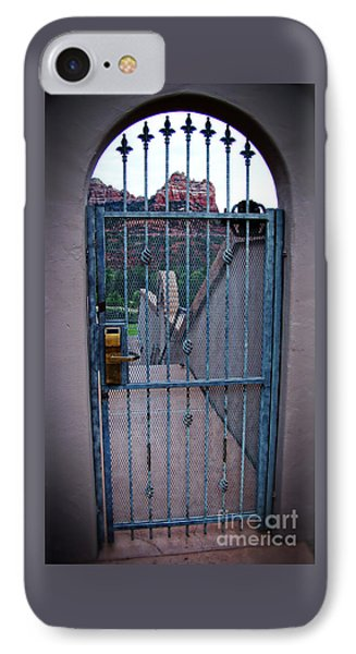 Sedona Iron Gate Entrance  IPhone Case by Beverly Guilliams