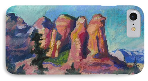 Sedona Peaks IPhone Case by Linda Novick