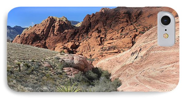 IPhone Case featuring the photograph Sedona Reds by Kathleen Scanlan