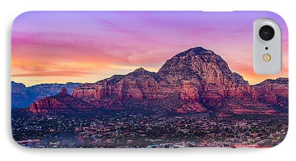 Sedona Sunset IPhone Case by Michael Petrizzo