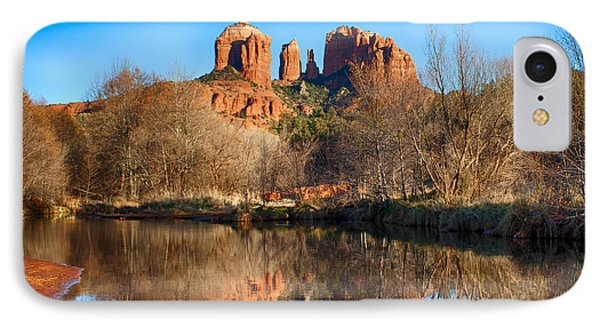 Sedona Winter Reflections IPhone Case