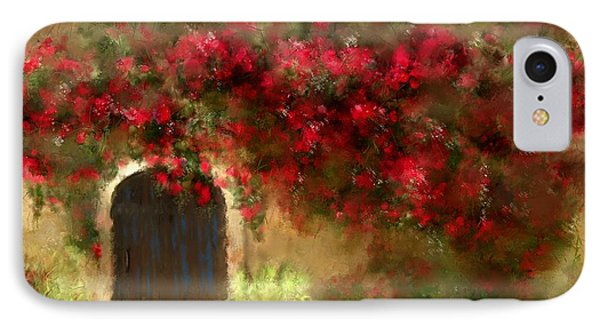 The Bougainvillea's Of Sedona IPhone Case