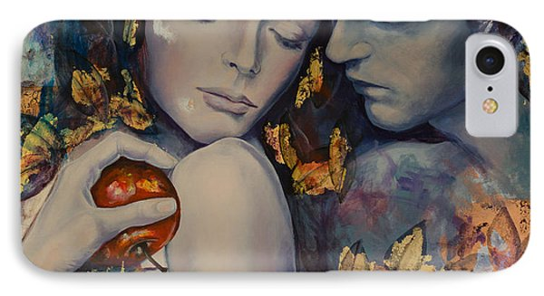 Seduction Phone Case by Dorina  Costras