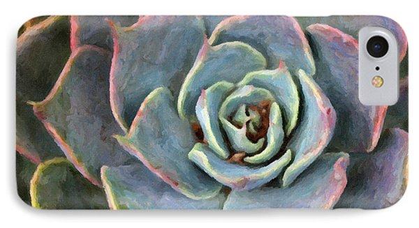 Sedum With Pink Edges IPhone Case by Susan Schroeder