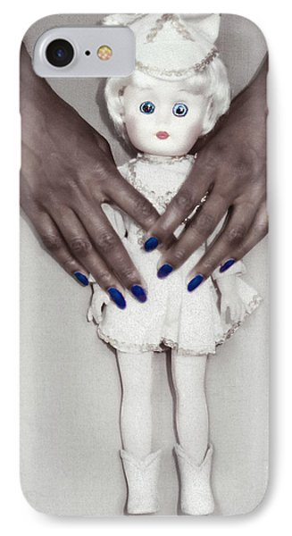 IPhone Case featuring the photograph See My Doll by Kellice Swaggerty