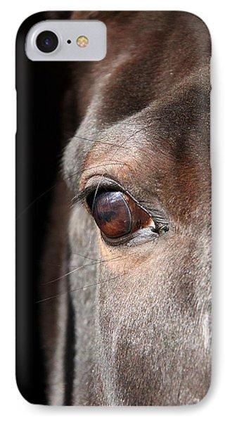 See My Soul IPhone Case by Davandra Cribbie