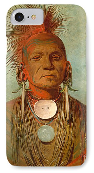 See Non Ty A An Iowa Medicine Man IPhone Case by George Catlin