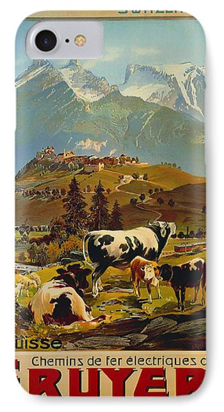 See Switzerland 1906 IPhone Case by Mountain Dreams