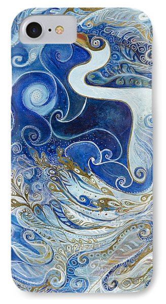 Seeking Balance IPhone Case by Leela Payne