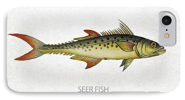Seer Fish IPhone Case by Aged Pixel