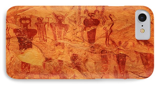 Sego Canyon Rock Art IPhone Case by Alan Vance Ley