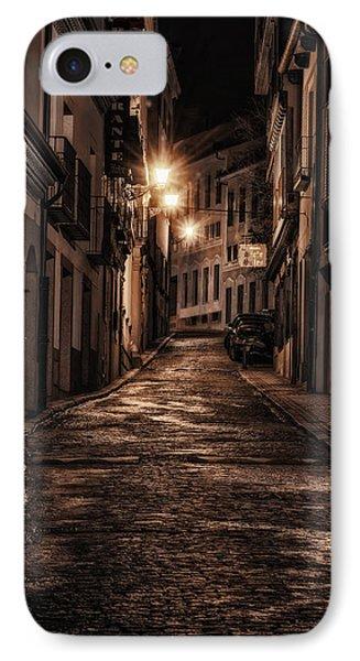 Segovia Predawn Phone Case by Joan Carroll