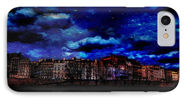 Seine River Paris France IPhone Case