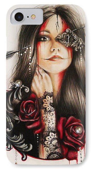 Self Affliction IPhone Case by Sheena Pike