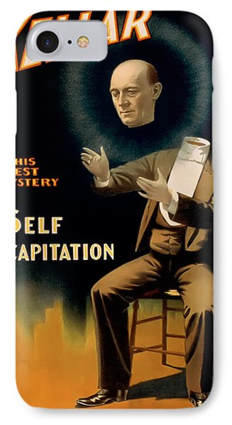 Self Decapitation IPhone Case by Terry Reynoldson