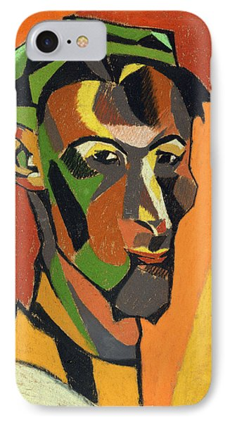 Self Portrait, 1913 IPhone Case by Henri Gaudier-Brzeska