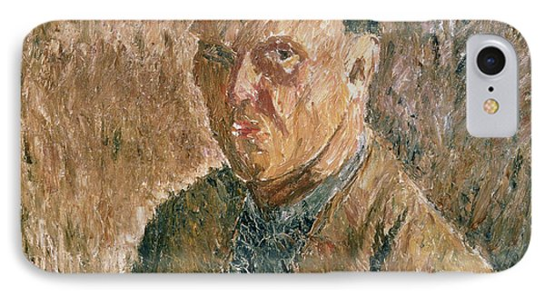 Self Portrait, 1923 Oil On Canvas IPhone Case