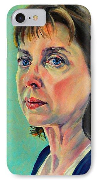 Self Portrait 2011 Phone Case by Jolante Hesse