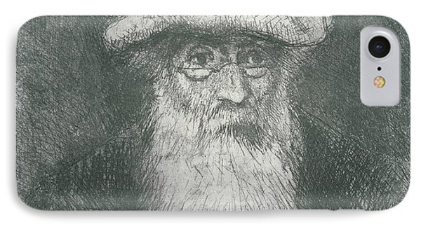 Self Portrait  IPhone Case by Camille Pissarro