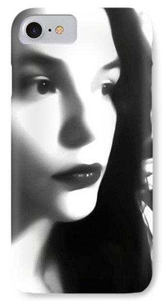 Self-portrait For Nancy IPhone Case by Toni Martsoukos