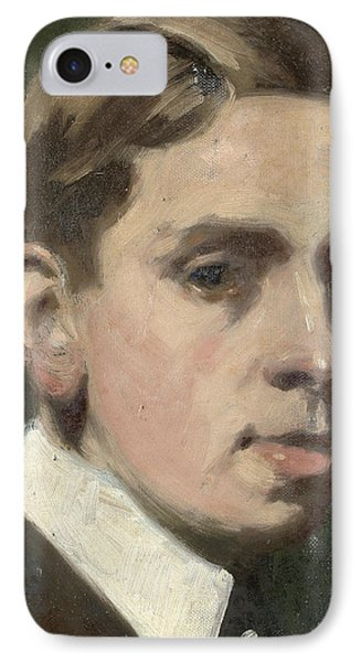 Self Portrait Phone Case by Francis Campbell Boileau Cadell