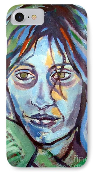 IPhone Case featuring the painting Self Portrait by Helena Wierzbicki