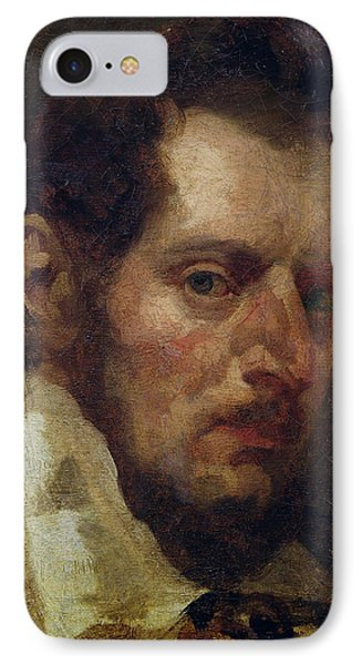 Self Portrait Oil On Canvas IPhone Case by Theodore Gericault