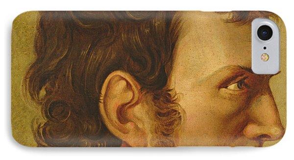 Self Portrait IPhone Case by Philipp Otto Runge