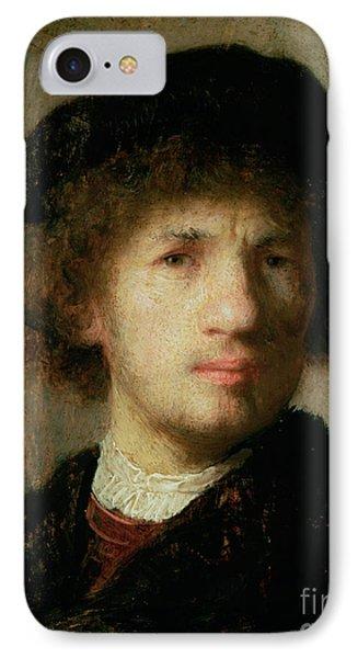 Self Portrait Phone Case by Rembrandt Harmenszoon van Rijn