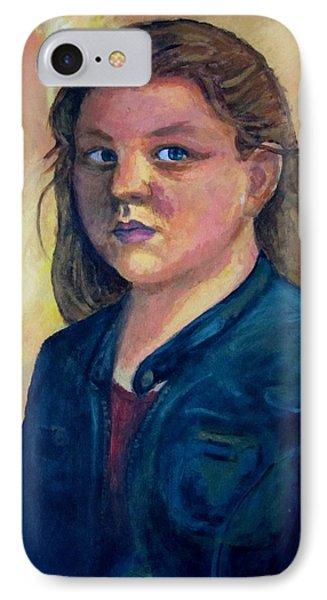 Self Portrait IPhone Case by Samantha Geernaert