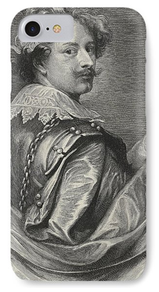 Self Portrait IPhone Case by Sir Anthony van Dyck