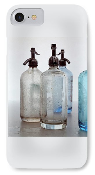 Seltzer Bottles IPhone Case by Romulo Yanes