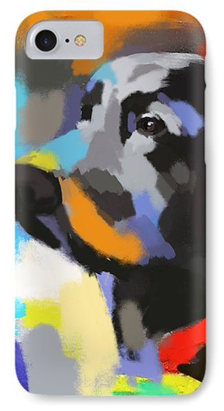 Dog Sem IPhone Case by Go Van Kampen