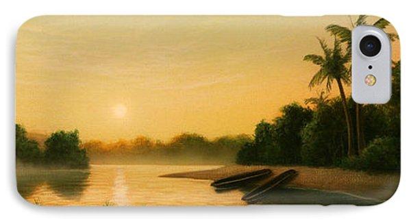 Egret iPhone 7 Case - Seminole Sunset by Jerry LoFaro