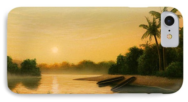 Seminole Sunset IPhone Case by Jerry LoFaro