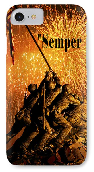 Semper Fi IPhone Case by Government Photographer