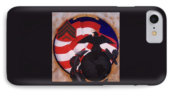 Semper Fidelis Phone Case by D L Gerring