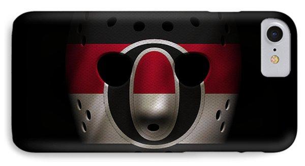Senators Jersey Mask IPhone Case