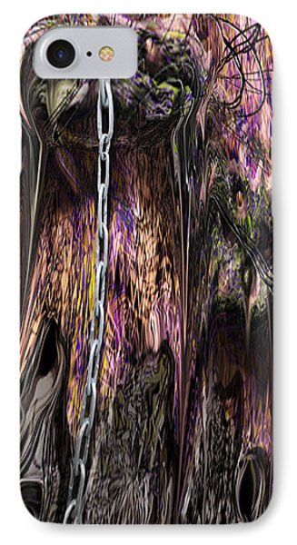 IPhone Case featuring the photograph Sending Walkway by Steve Sperry