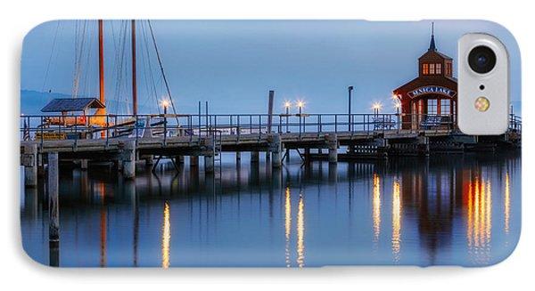 Seneca Lake IPhone 7 Case by Bill Wakeley